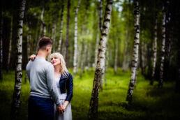 Sesja narzeczeńska w lesie Fotograf Szczecin