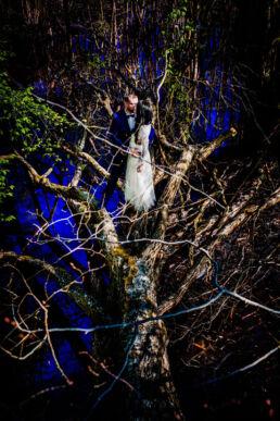 Plener ślubny w lesie Fotograf Ślubny Szczecin
